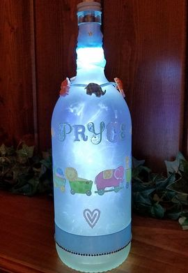 Baby Boy Cusom Bottle Light